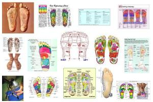 Reflexology is an alternative medicine method involving application of