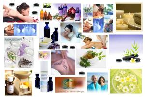 Aromatherapy is a form of alternative medicine that uses volatile